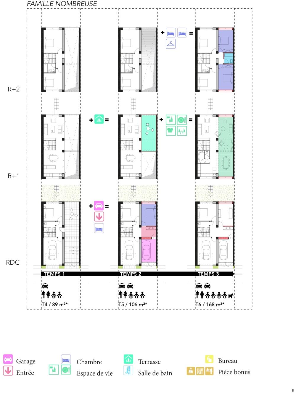 plan maison de ville-1